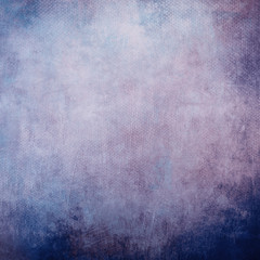 blue grungy canvas background or texture