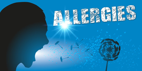 Allergie - Eternuement - pollen - allergique - santé - médecine - environnement