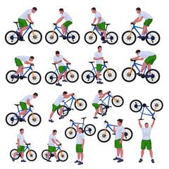 cyclist set 01