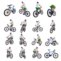 cyclist set 013