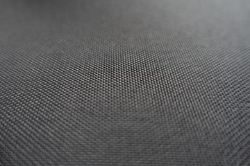 Close-up of plain black fabric