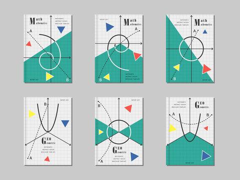 Mathematic cover design