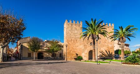 Spanien Mallorca Alcudia Porta des Moll Fotomurales