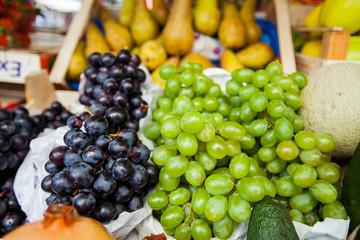 Fresh ripe grape