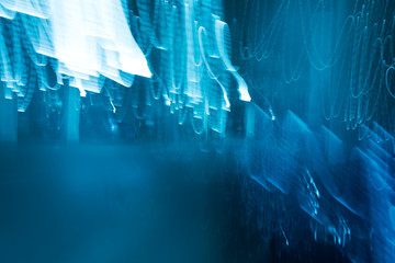 Abstract background with light wave.
