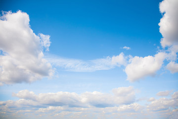 Natural cloudscape background