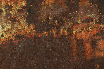 urban metal rust texture
