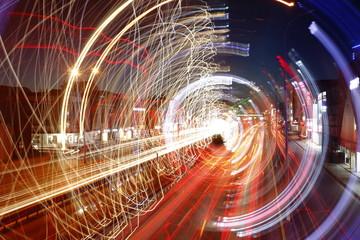 Street, road, experimental photo