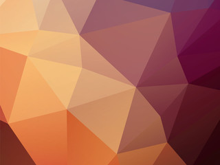 brown background low poly