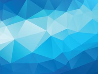 blue background geometric