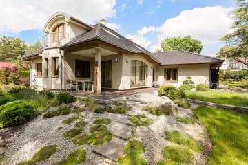 Suburban detached house