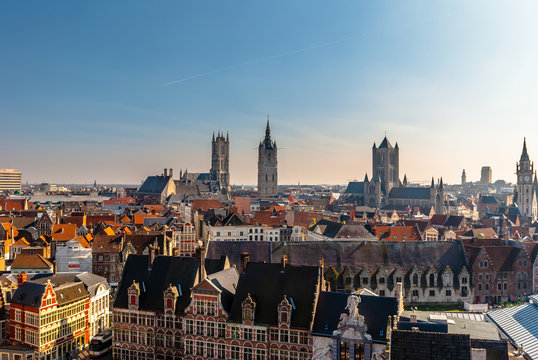 View of Ghent  (Belgium)