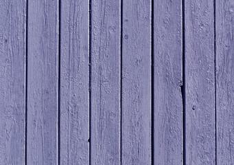 Blue color wooden fence pattern.