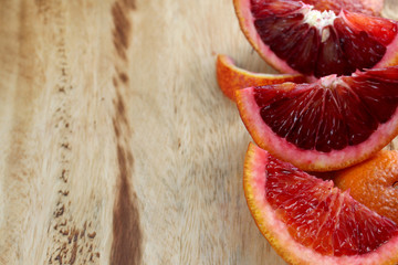 Blood Oranges Prep