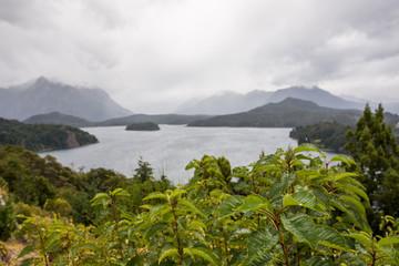 Lago Nahuel Haupi, bariloche, patagonia, argentina