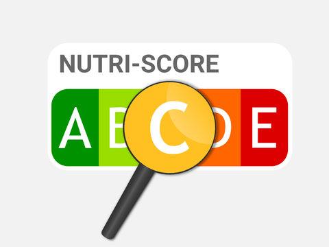 loupe nutri-score - nutriscore - indice C