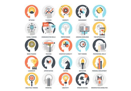 25 Mental Process Icons 3