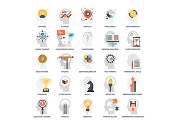 25 Mental Process Icons 8