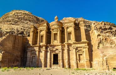 Ad Deir, the Monastery at Petra. UNESCO heritage site