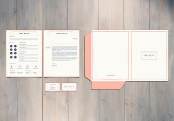 Resume, Business Card, and  Mailer 2