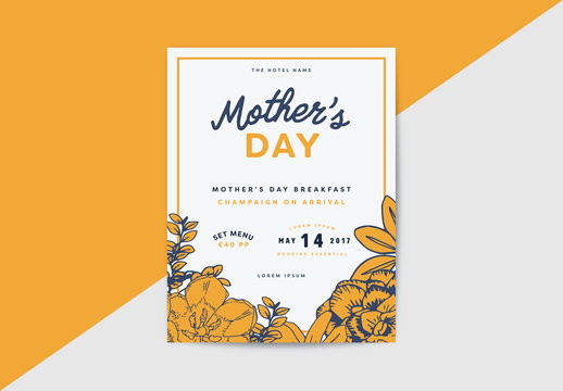 Mother's Day Promotional Poster