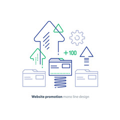 Website optimization services, top level