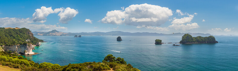 Foto op Plexiglas Cathedral Cove Te Whanganui-A-Hei (Cathedral Cove) Marine Reserve in Coromandel Peninsula North Island, New Zealand.