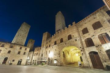 Wall Mural - San Gimignano Medieval Village,Tuscany, Italy, Europe