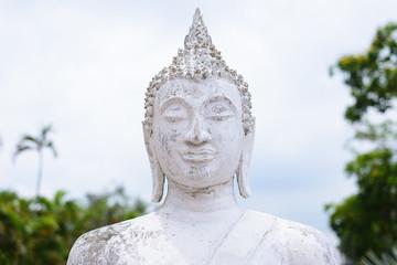 Head Buddha Statue at Wat Yai Chaimongkol, Ayutthaya, Thailand