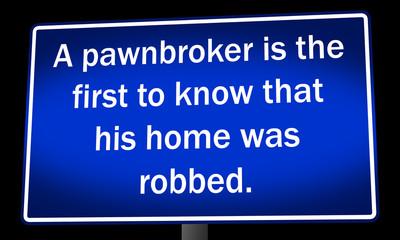 a joke about robbery