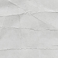 Recycled, creased, old paper texture background with space for text