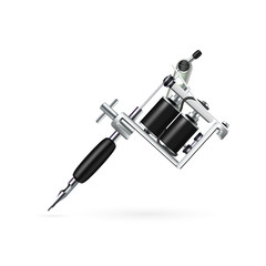 Realistic Tattoo Machine