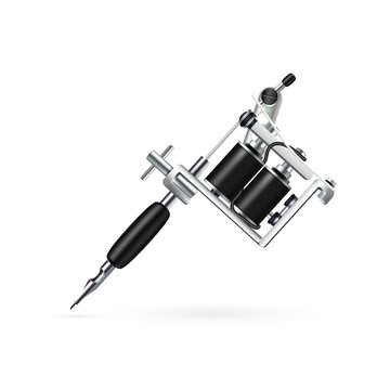 Realistic Tattoo Machine