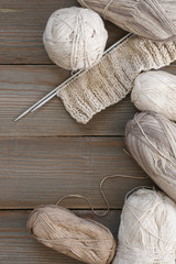 Cotton and linen yarn