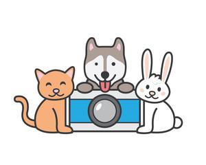 Modern Pet Photography Logo
