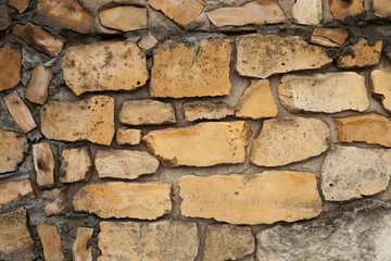 Background image of a wall made of masonry.