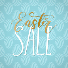 Easter Sale holiday celebration card