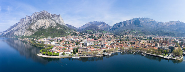 City of Lecco - Como lake - Italy