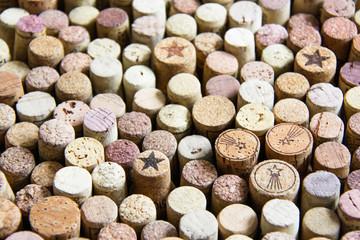 Corks for wine.