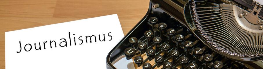 Journalismus Antike Schreibmaschine