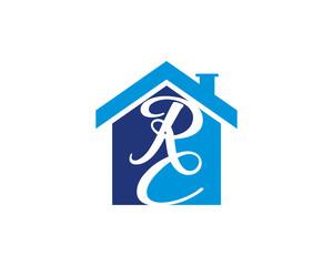 RC Letter And House Logo V.1