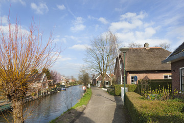Picturesque village Linschoten
