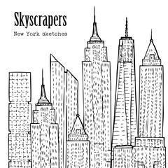 Background with Skyscrapers