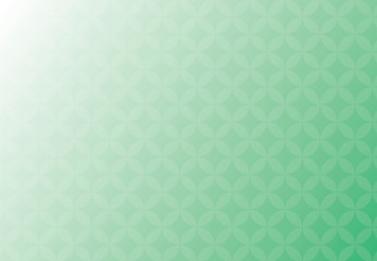 Abstract vector background green and white business of overlap circles beautiful.
