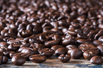 Abundance of coffee beans