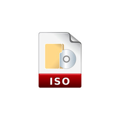 Color Icon - ISO file format