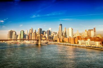 Brooklyn Bridge in Lower Manhattan