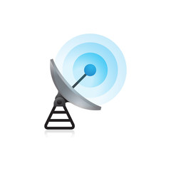 Color Icon - Satellite receiver