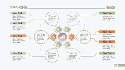 Creative Cycle Diagram Slide Template
