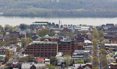 View  of Alexandria, Virginia USA